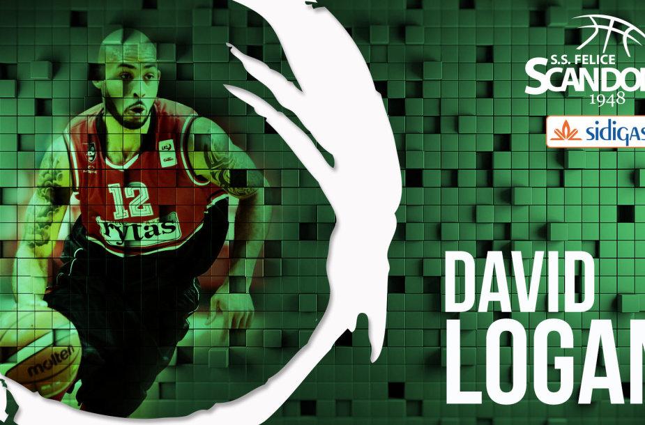"""Avelino """"Sidigas"""" klubas paskelbė apie D.Logano įsigijimą."""