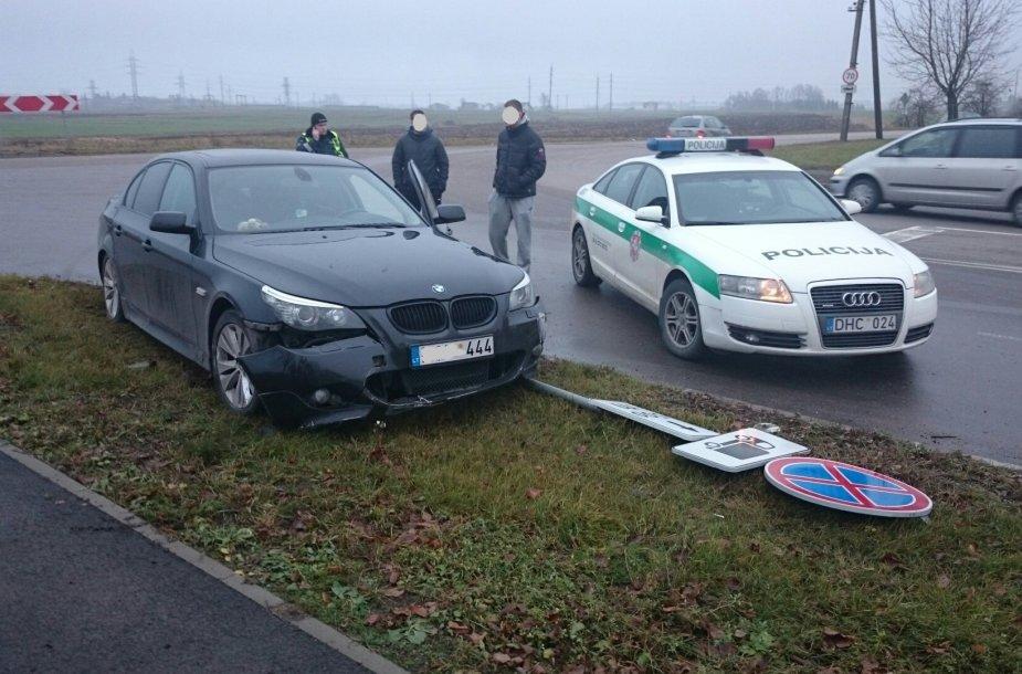 Sulaikytas BMW