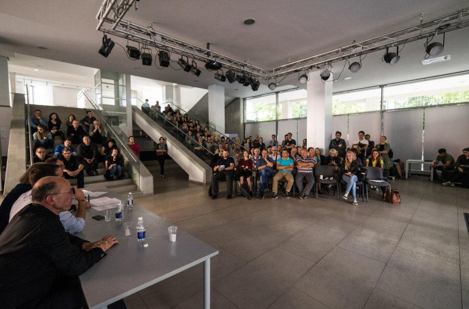 """Kauno Architektūros festivalio diskusija """"Kryptis – Kaunas"""""""