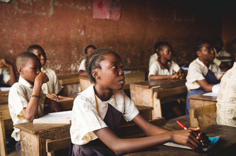 Mokykla Afrikoje