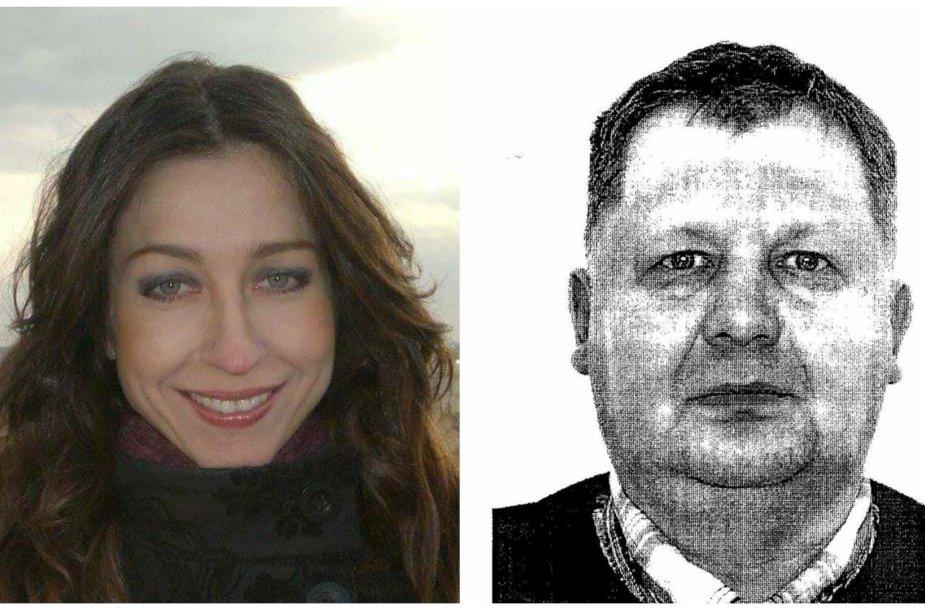 Vilma Martišiutė ir jos nužudymu įtariamas Rolandas Ambroza