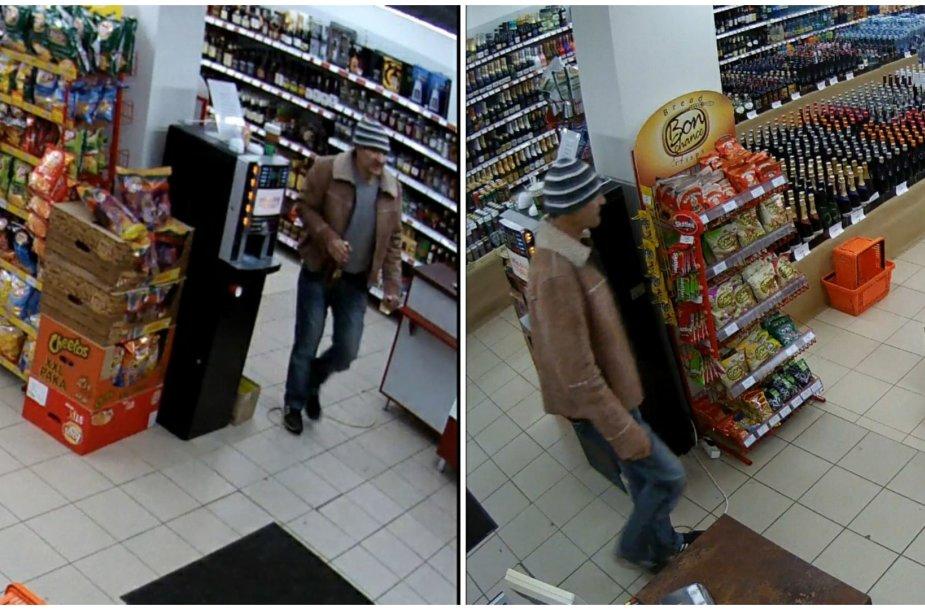 Alytuje ieškomas alkoholį pavogęs vyras