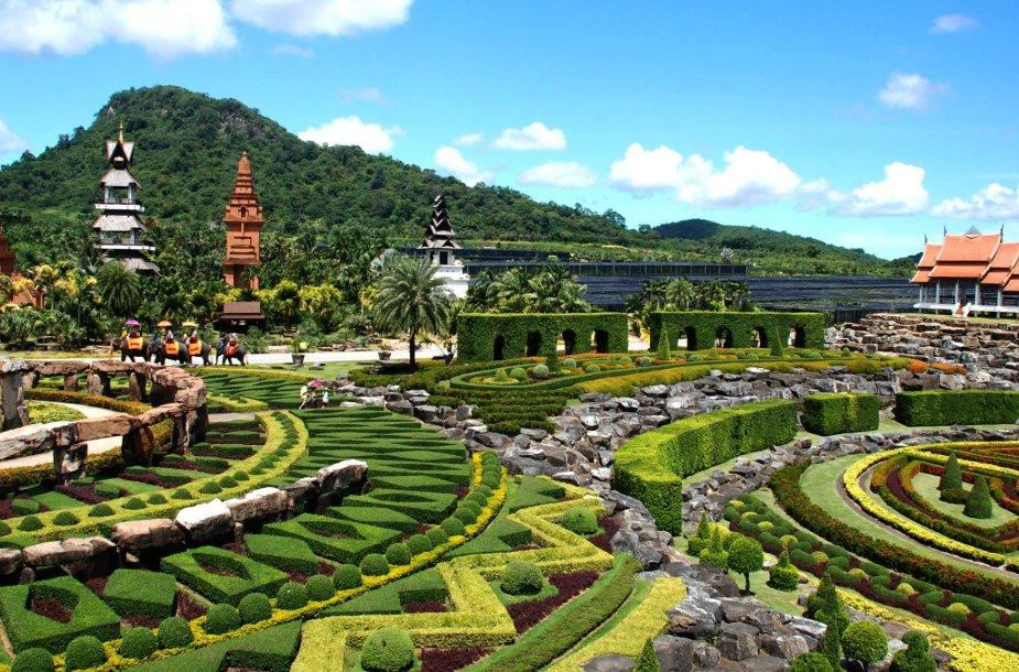 Įspūdingas botanikos sodas Tailande