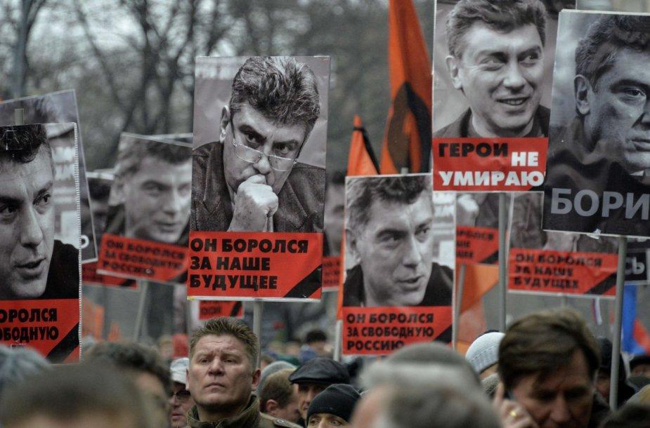 Gedulo maršas Borisui Nemcovui atminti