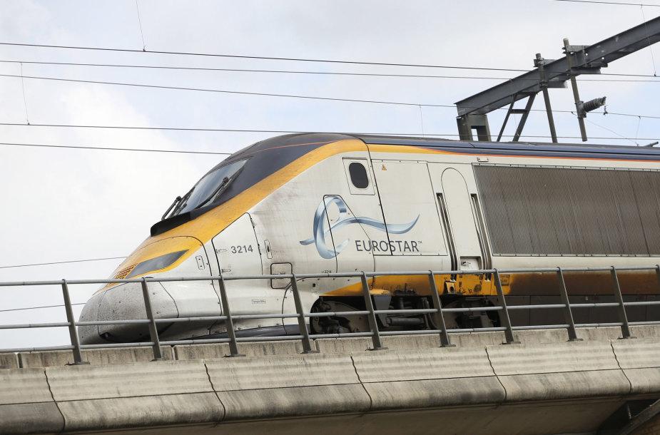 """Eurostar"" traukinys"
