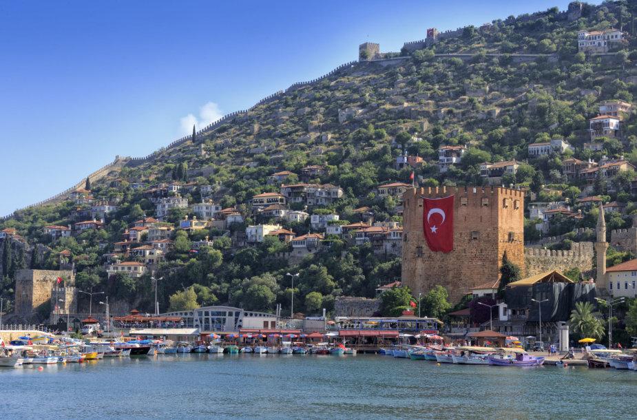Turkijos kurortas Alanija – vienas populiariausių tarp turistų iš Lietuvos