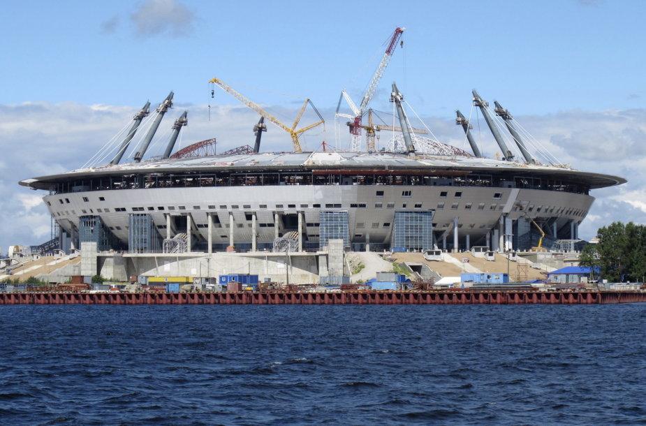 """Sankt Peterburge statoma """"Zenit Arena"""""""