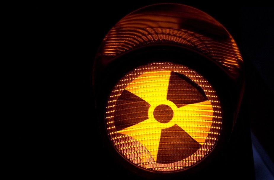 Radiacijos pavojus.