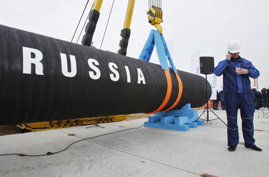 """""""Nord Stream"""" dujotiekis"""