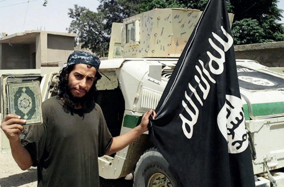 """""""Islamo valstybės"""" kovotojas Abdelhamidas Abaaoudas"""
