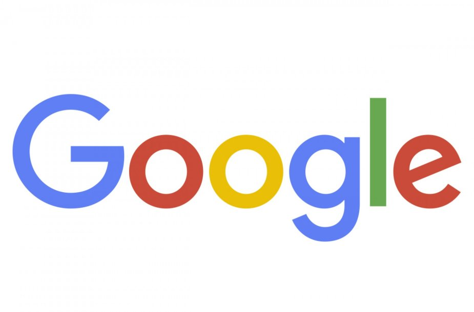 """Naujasis """"Google"""" logotipas"""