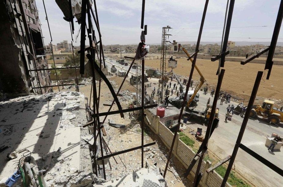 Sprogimas Sirijoje