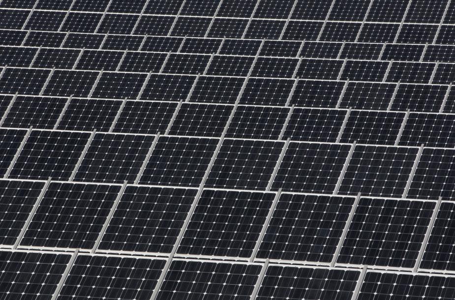 Saulės baterijos Pietų Korėjoje