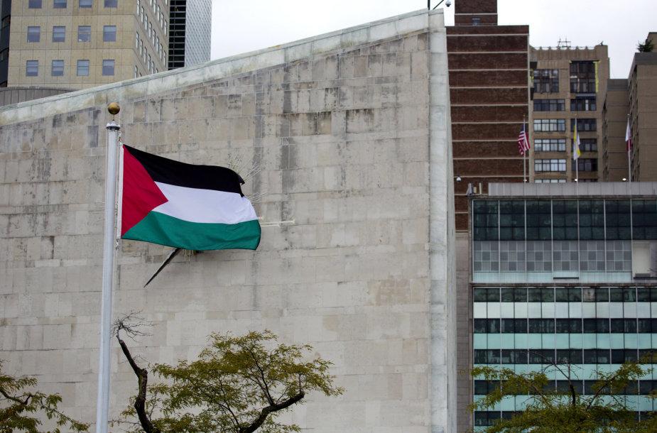 Palestinos vėliava
