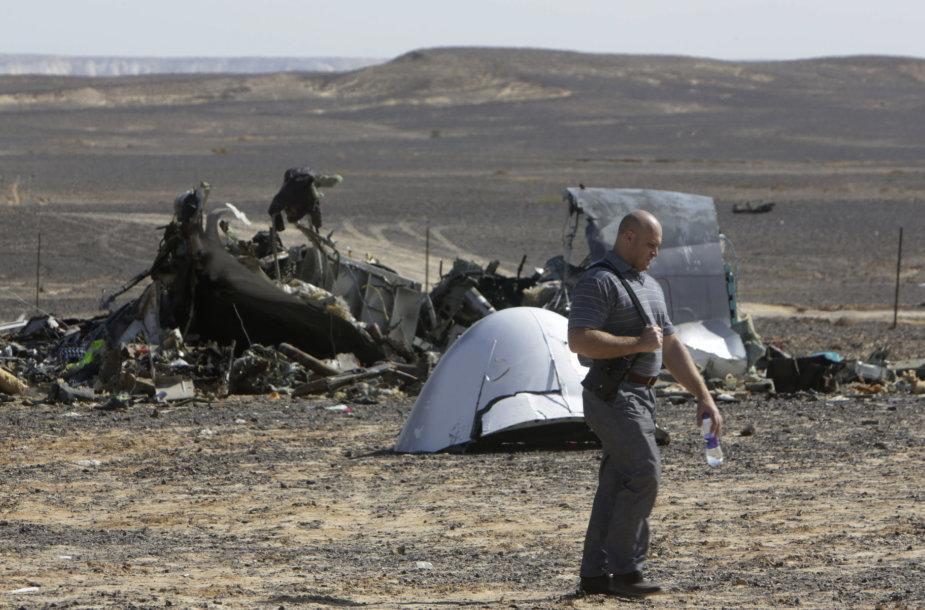 Sudužęs Rusijos lėktuvas