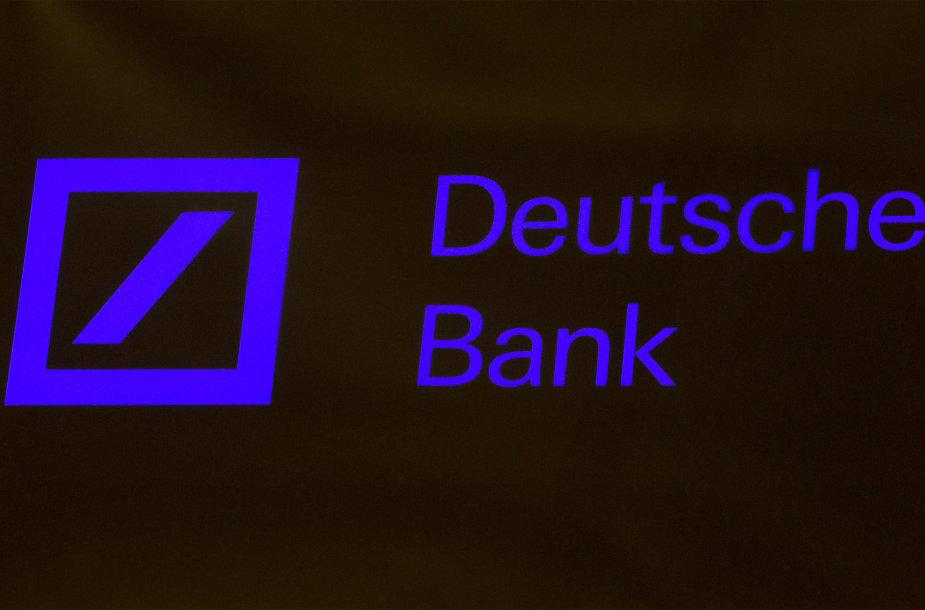 """Deustche Bank"" logotipas"