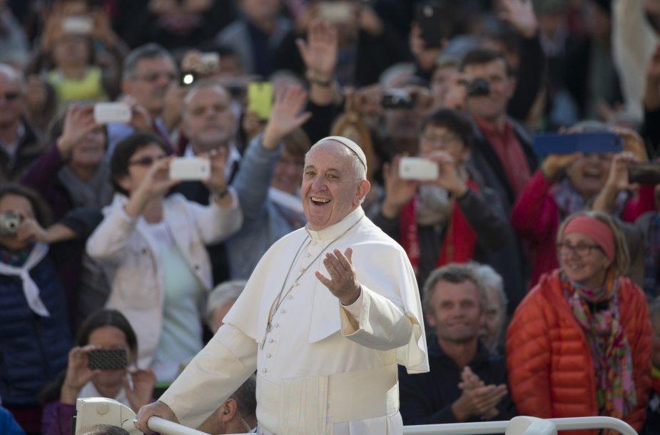 4. Popiežius Pranciškus