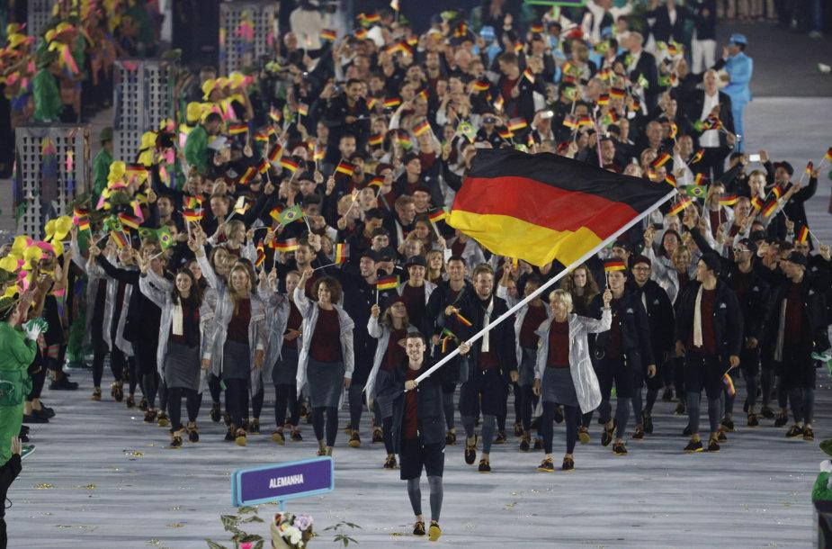 Vokietijos delegacija