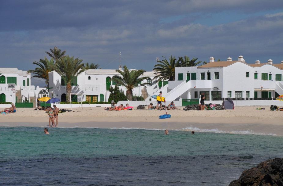 El Cotillo miestelis – naujasis Fuerteventura kurortas