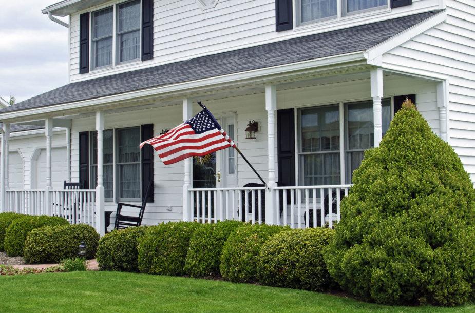 Amerikiečių namai