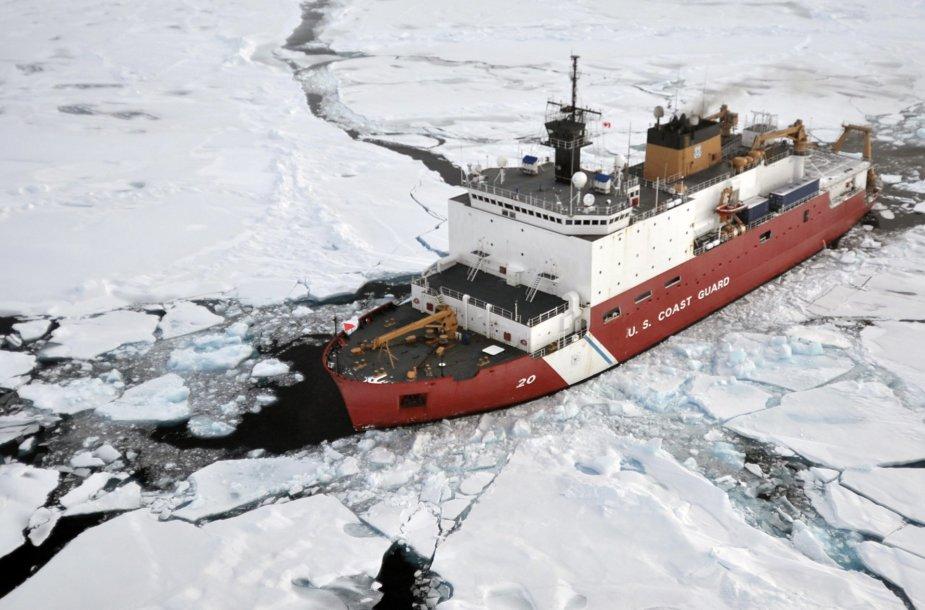 Nykstantis Arkties ledas