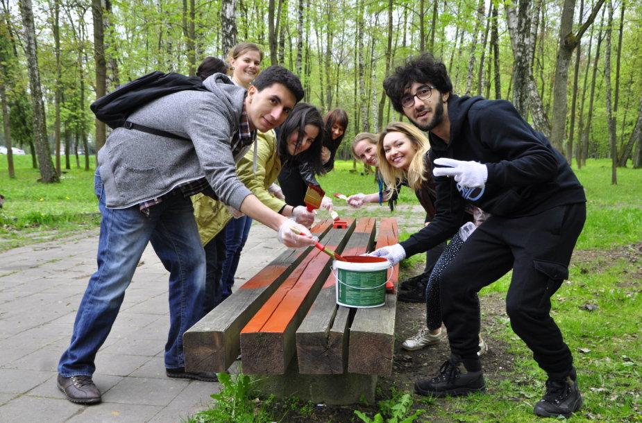 Erasmus Studentų Tinklas – žingsneliu arčiau tarptautiškumo
