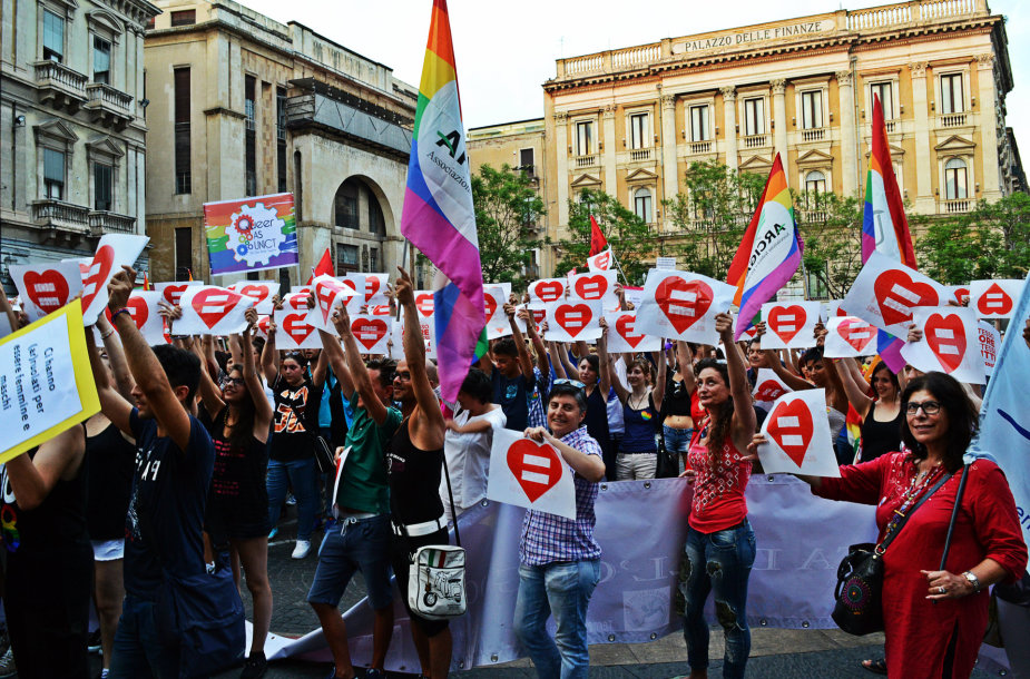 """""""Catania Pride 2015"""" ir vakarienė San Berillo rajone"""