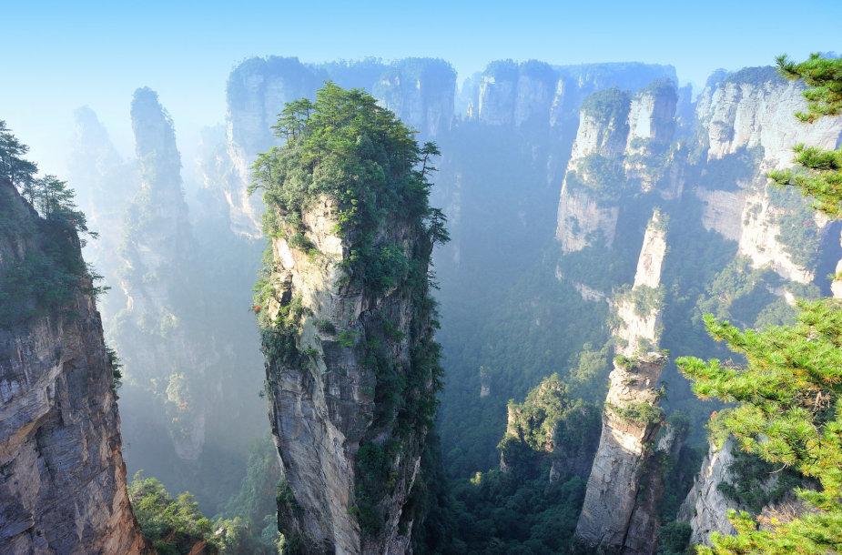 Zhangjiajie nacionalinis miškų parkas