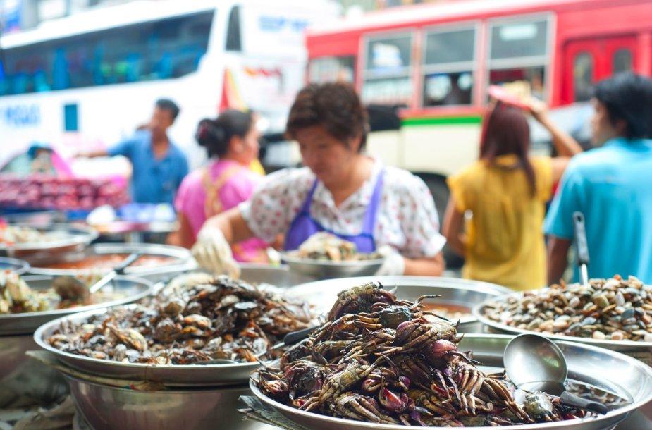 Gatvės maistas Bankoke