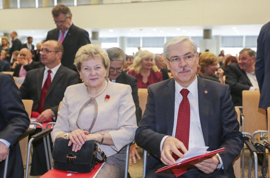 Irena Šiaulienė ir Zigmantas Balčytis