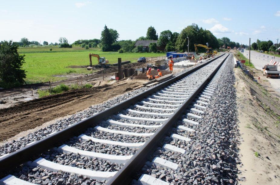 Rail Baltica tiesimas