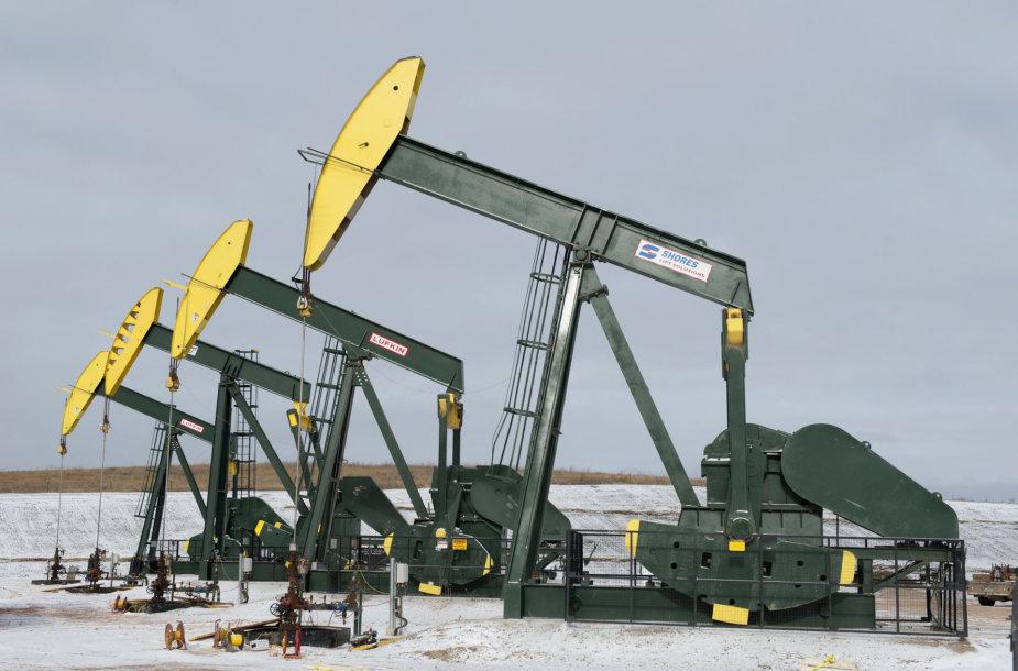 Naftos gavyba Šiaurės Dakotoje