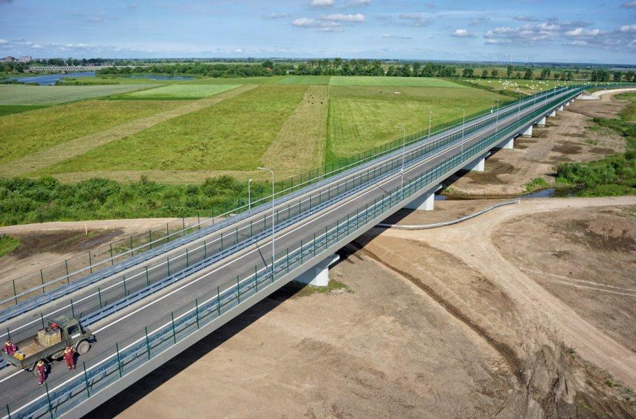 Panemunės tilto statybos