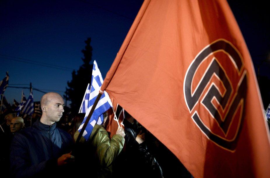 Graikijos neonaciai.