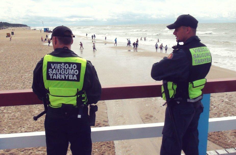 VST pareigūnai pradėjo patruliuoti Palangoje