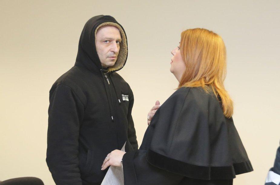 Policininko Audriaus Naudžiūno suėmimas