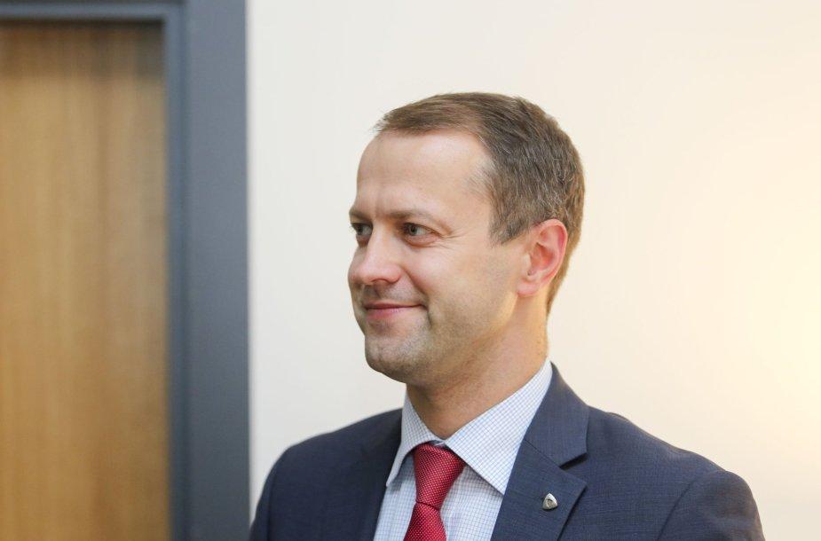 """""""Lietuvos energija"""" valdybos pirmininkas, generalinis direktorius Dr. Dalius Misiūnas"""