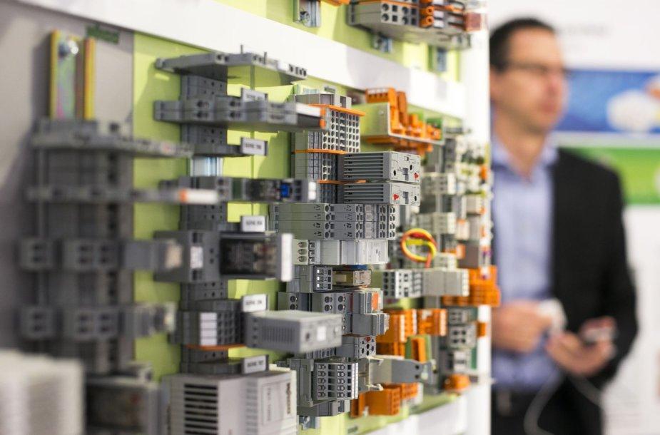 """""""Litexpo"""" rūmuose – pramonės įranga, medžiagos, robotai"""