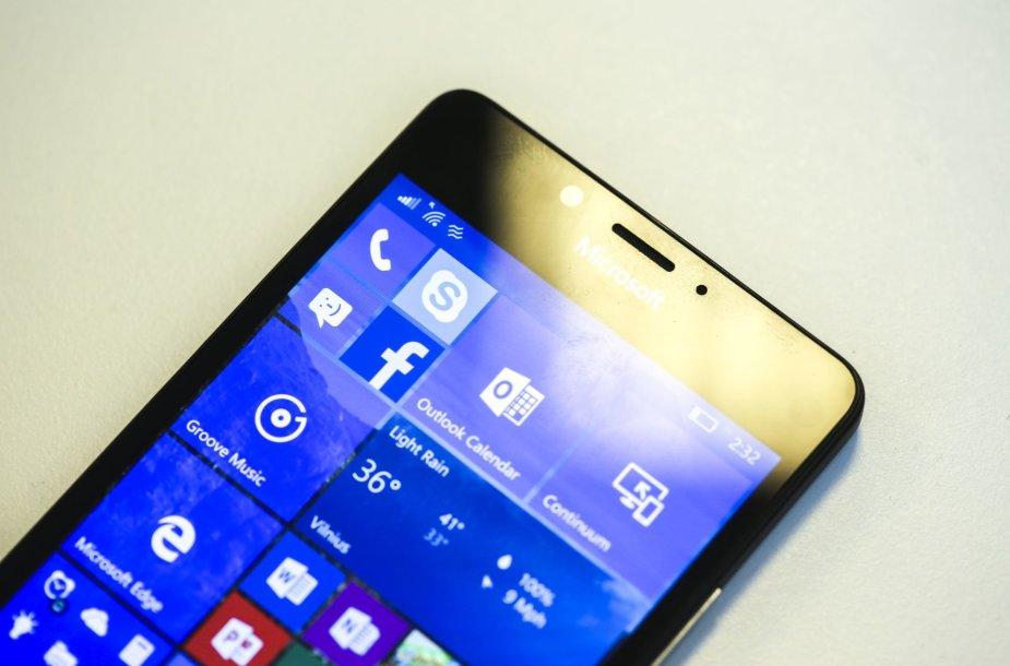 """Microsoft"" išmanusis telefonas  ""Lumia 950"""