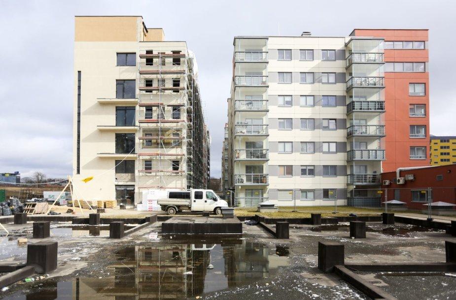 Administracinėse patalpose įrenginėjami butai