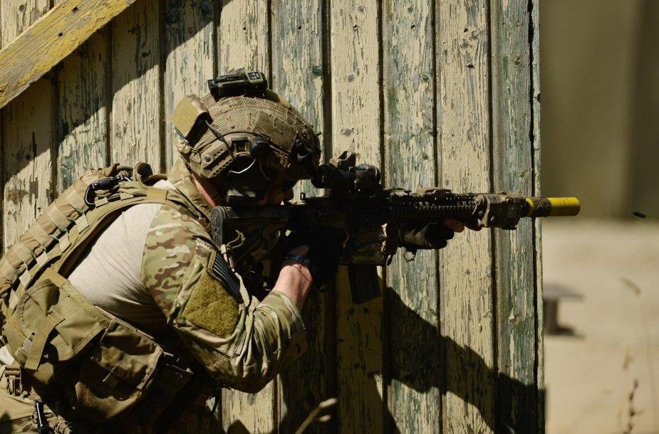 JAV specialiųjų pajėgų karys