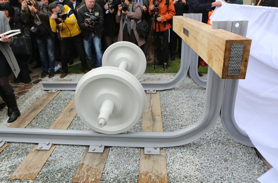 """""""Rail Baltica"""" atidarymas Kaune"""