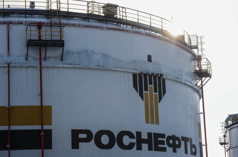 """""""Rosneft"""" naftos gavybos telkinys Krasnojarsko krašte"""
