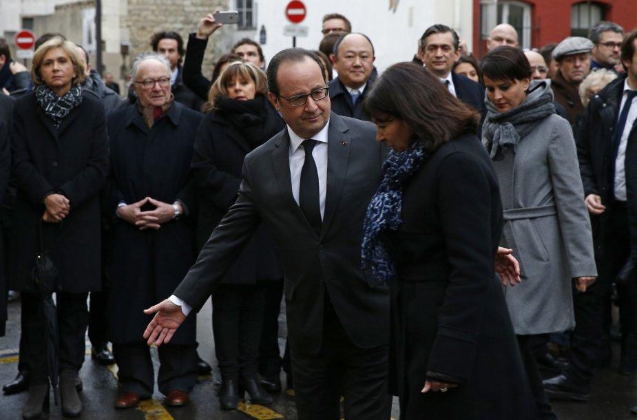 """Prancūzijoje pradedamos minėti išpuolių prieš """"Charlie Hebdo"""" metinės"""