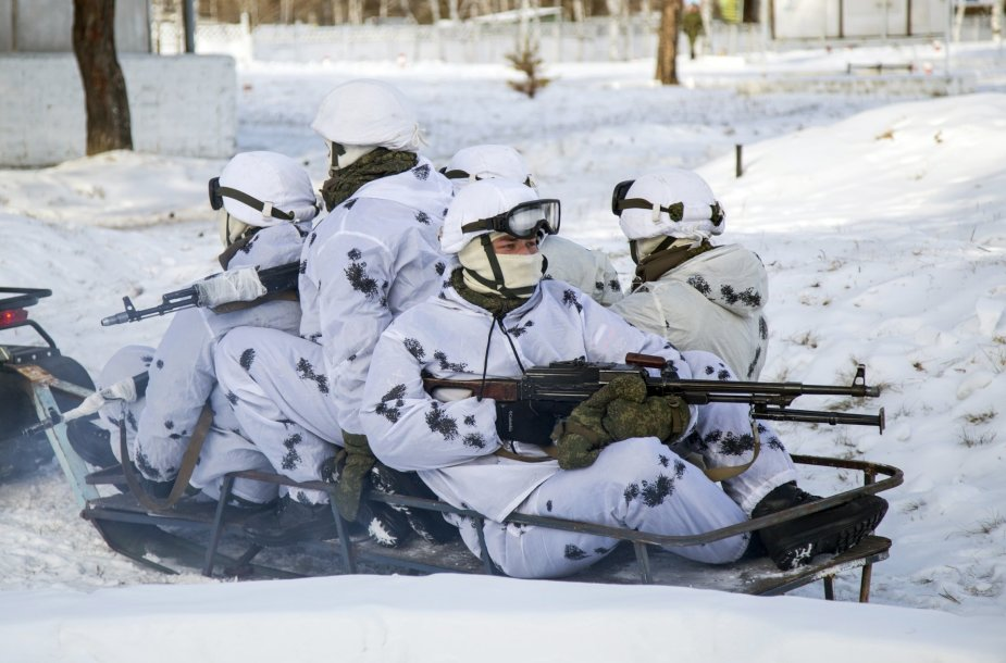 Rusijos kariai Amūro regione