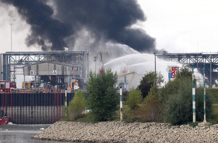 Sprogimas BASF gamykloje
