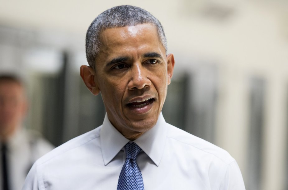 Baracko Obamos vizitas JAV kalėjime