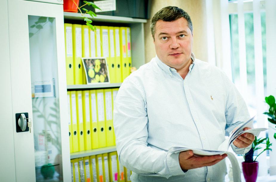 """akių ligų klinikos """"Naujas regėjimas"""" Vilniuje direktorius Olegas Kovriguine."""