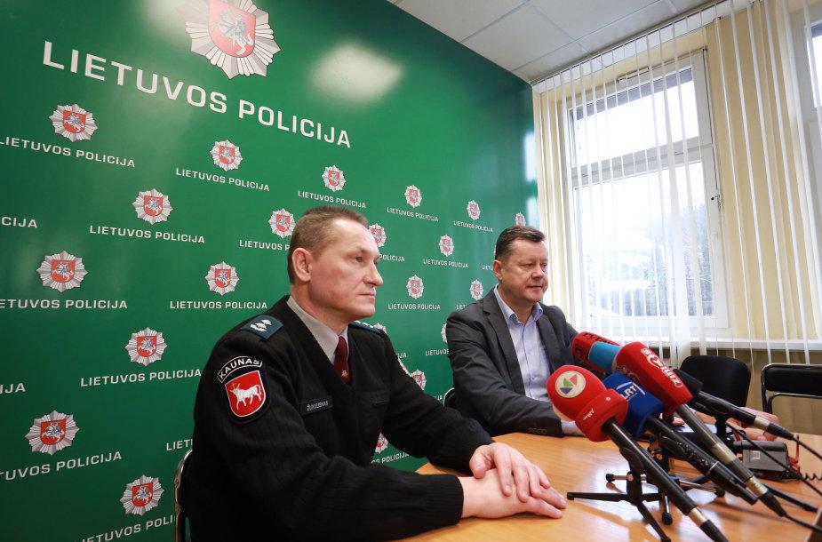 Gintautas Žukauskas ir Rimas Bradūnas