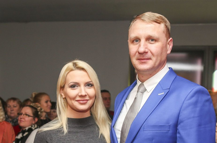 Monika Šedžiuvienė ir Andrius Šedžius
